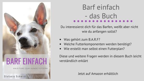 Barf einfach - Anleitung zum Hunde füttern